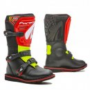 Forma Stiefel Rock black/Red/ Fluo Yellow