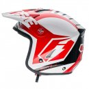 Jitsie Helm HT1 Blitz - White/Red
